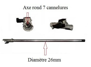 debroussailleuse 7 cannelures